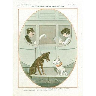 フランスの雑誌広告 〜LA VIE PARISIENNE〜アドバタイジング014