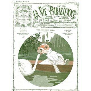 フランスの雑誌表紙 〜LA VIE PARISIENNE〜アドバタイジング016