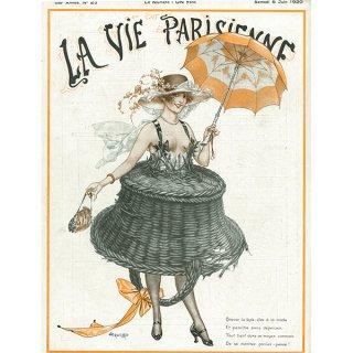 フランスの雑誌表紙 〜LA VIE PARISIENNE〜より(シェリ・エルアール/Chéri Hérouard)017