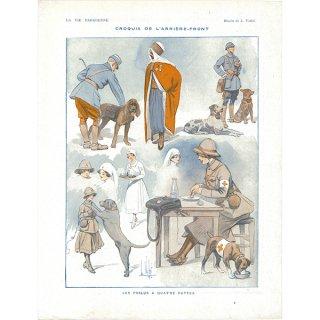 フランスの雑誌挿絵 〜LA VIE PARISIENNE〜より(Louis Vallet)029