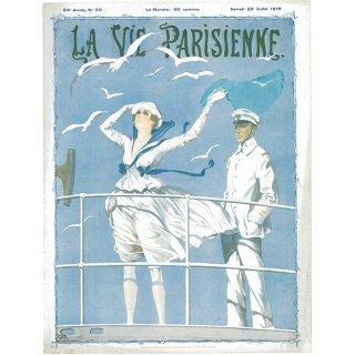 フランスの雑誌表紙 〜LA VIE PARISIENNE〜より(ジョルジュ・レオネック/Georges Léonnec)031