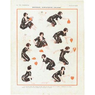 フランスの雑誌挿絵 〜LA VIE PARISIENNE〜より(Vald'Es)035