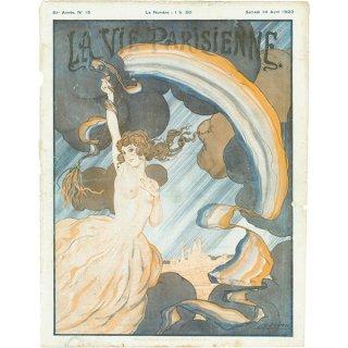 フランスの雑誌 〜LA VIE PARISIENNE〜表紙(Léo Fontan)040