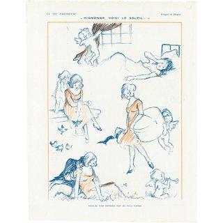 フランスの雑誌挿絵 〜LA VIE PARISIENNE〜より(Georges Hautot)041