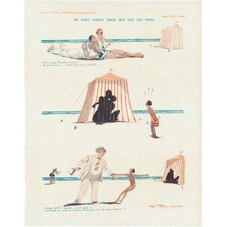 フランスの雑誌挿絵 〜LA VIE PARISIENNE〜より(Henry Fournier)042