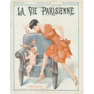 フランスの雑誌表紙 〜LA VIE PARISIENNE〜より(シェリ・エルアール/Chéri Hérouard)043