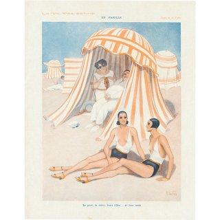 フランスの雑誌挿絵 〜LA VIE PARISIENNE〜より(Armand Vallée)046