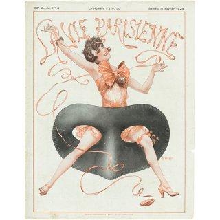 フランスの雑誌表紙 〜LA VIE PARISIENNE〜より(シェリ・エルアール/Chéri Hérouard)058