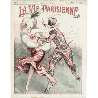 フランスの雑誌表紙 〜LA VIE PARISIENNE〜より(Armand Vallée)059