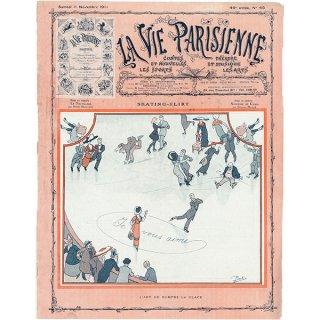 フランスの雑誌表紙 〜LA VIE PARISIENNE〜より(Pierlic. Skating-Flirt)060