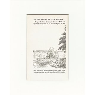 ヴィンテージプリント くまのプーさん(クラシックプーCH-0029)