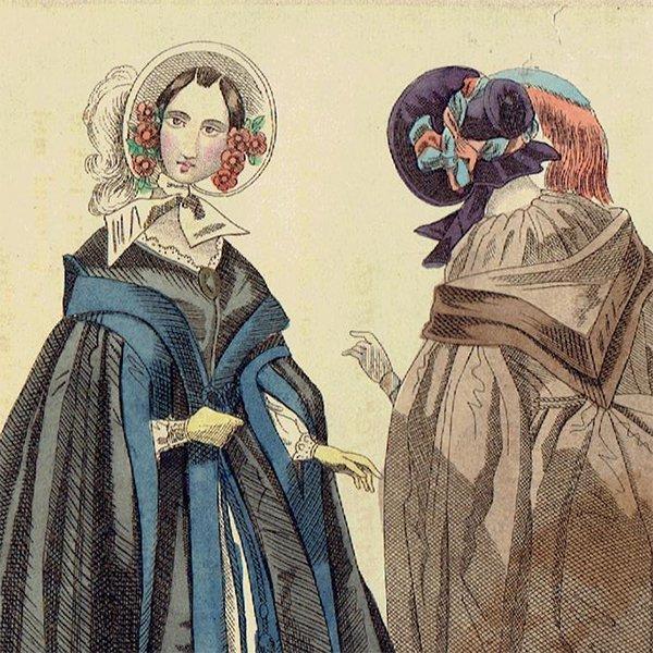 ファッションプレート 1840年代スウェーデン Pl.44 046(アンティーク ...