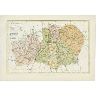 スウェーデンのアンティークマップ(古地図)クロノベリ 008