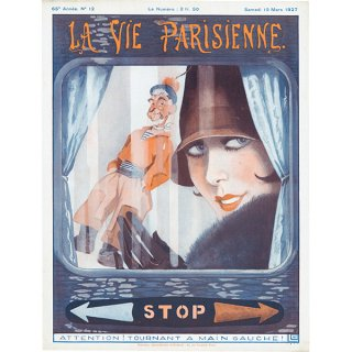 フランスの雑誌表紙 〜LA VIE PARISIENNE〜より(ジョルジュ・レオネック/Georges Léonnec)077
