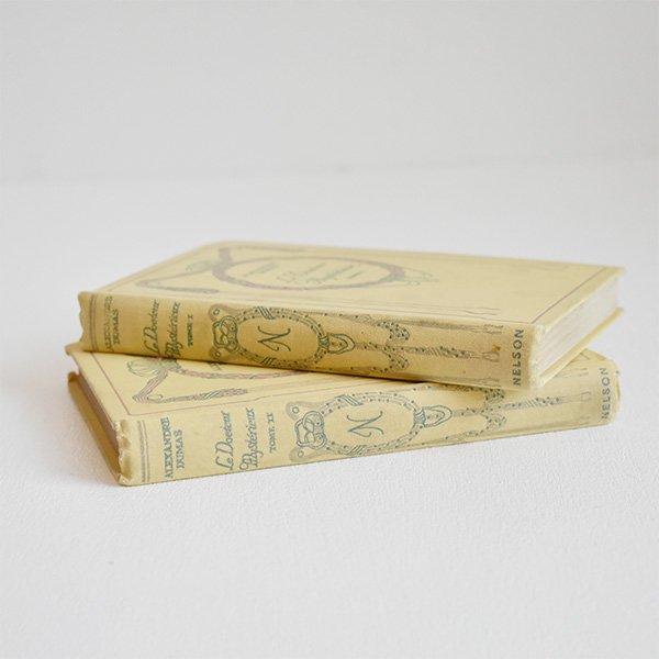 ネルソン(NELSON)洋書(古書) フレンチアンティークブックセット(2冊)014