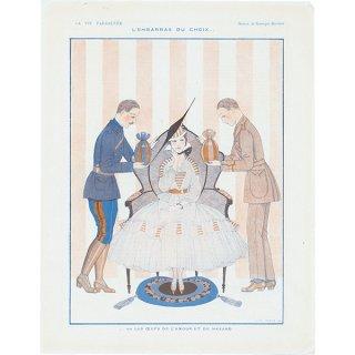 フランスの雑誌 〜LA VIE PARISIENNE〜ジョルジュ・バルビエ 081
