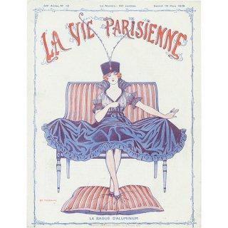 フランスの雑誌表紙 〜LA VIE PARISIENNE〜より(Edouard Touraine)083