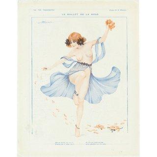 フランスの雑誌挿絵 〜LA VIE PARISIENNE〜より(Henri Meunier)084