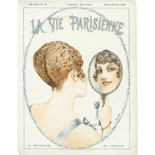 フランスの雑誌表紙 〜LA VIE PARISIENNE〜より(シェリ・エルアール/Chéri Hérouard)094