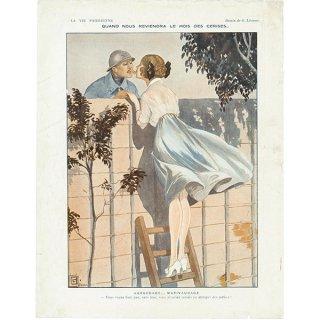 フランスの雑誌挿絵 〜LA VIE PARISIENNE〜より(ジョルジュ・レオネック/Georges Léonnec)096
