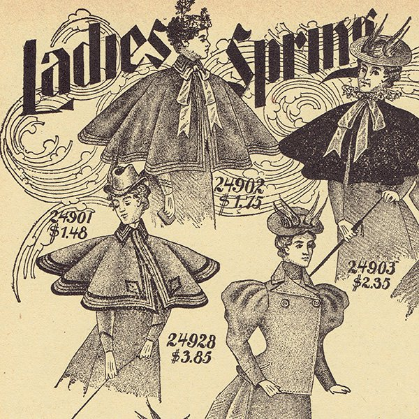 シアーズ・ローバック通販カタログより ミセスファッション 4set(1968年)sr002