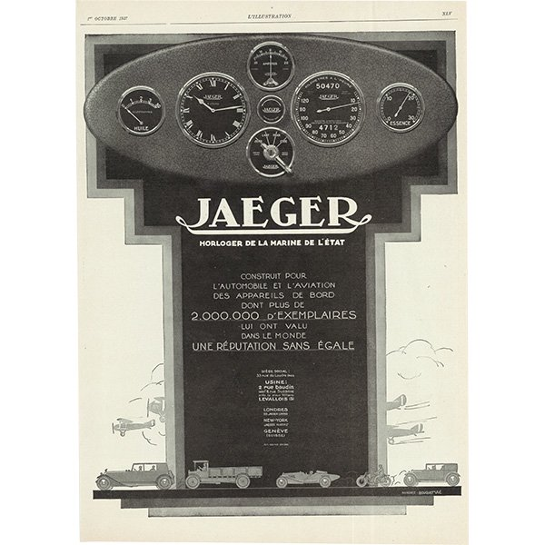 BALLOT または JAEGER(イエーガー)のヴィンテージ広告 0033