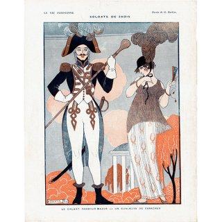 ジョルジュ・バルビエ(George Barbier)挿絵 〜LA VIE PARISIENNE〜より 0109