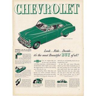 アメリカのヴィンテージ広告〜CHEVROLET シボレー〜 016