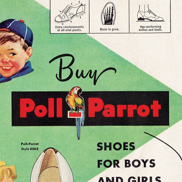 アメリカのヴィンテージ広告〜Poll-Parrot〜 015