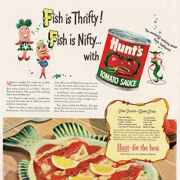 アメリカのヴィンテージ広告〜Hunt's〜 014