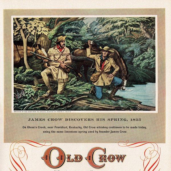 アメリカのヴィンテージ広告〜OLD CROW〜 オールド・クロウ 011