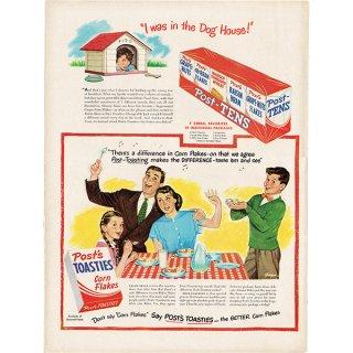 アメリカのヴィンテージ広告〜Post Toasties〜コーンフレーク広告  007