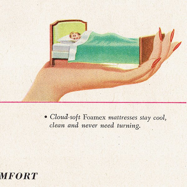 アメリカのヴィンテージ広告〜Firestone Foamex〜  010
