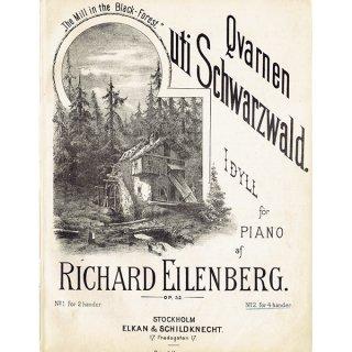 アンティーク楽譜 Die Mühle im Schwarzwald 黒い森の水車(全9ページ) 064