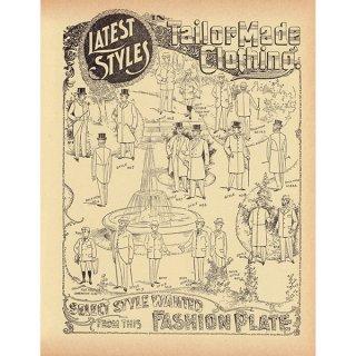 シアーズ・ローバック通販カタログよりテーラーファッションプレート(1968年)sr017