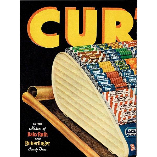 アメリカのヴィンテージ広告〜Curtiss gum mint fruit drops〜  011