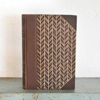 デンマーク 北欧 アンティークブック 古い洋書 ディスプレイ024