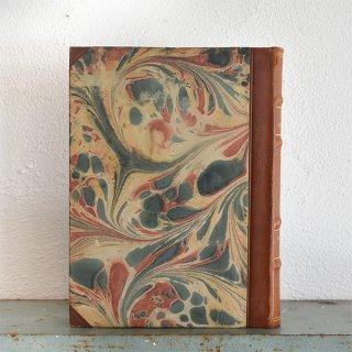 デンマーク 北欧 アンティークブック 古い洋書 ディスプレイ027