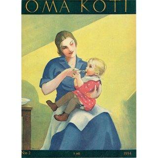 フィンランドの暮らしの情報誌 表紙 〜OMA KOTI〜No.2 0153