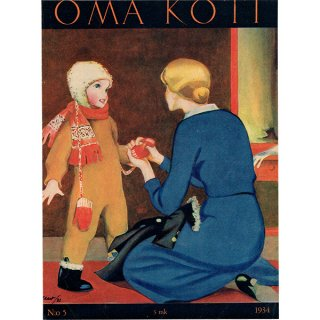 フィンランドの暮らしの情報誌 表紙 〜OMA KOTI〜No.5 0157