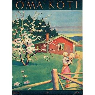 フィンランドの暮らしの情報誌 表紙 〜OMA KOTI〜No.11 0160