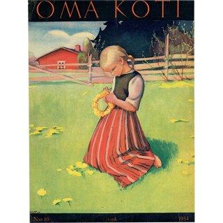 フィンランドの暮らしの情報誌 表紙 〜OMA KOTI〜No.10 0162