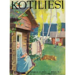フィンランドの暮らしの情報誌 表紙 〜KOTILIESI〜より 0164