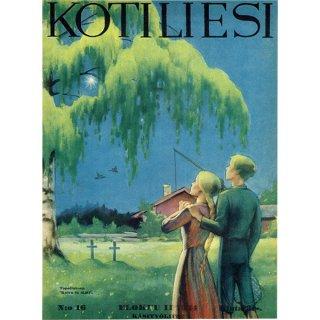 フィンランドの暮らしの情報誌 表紙 〜KOTILIESI〜より 0169