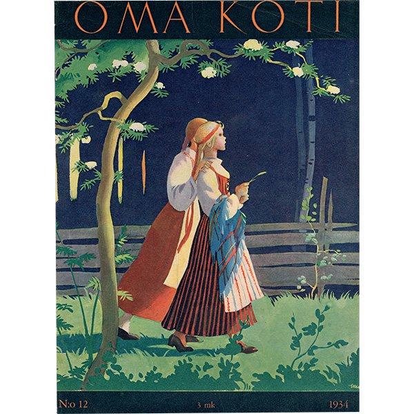 フィンランドの暮らしの情報誌 表紙 〜OMA KOTI〜No.12 0170