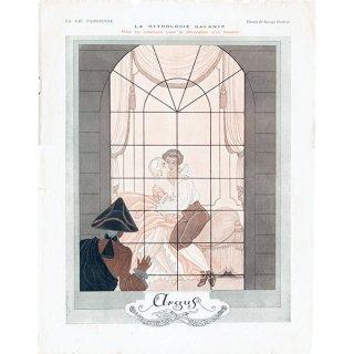 ジョルジュ・バルビエ(George Barbier)フランスの雑誌表紙 〜LA VIE PARISIENNE〜より 0128