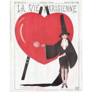 フランスの雑誌表紙 〜LA VIE PARISIENNE〜より(ジョルジュ・レオネック/Georges Léonnec)0145
