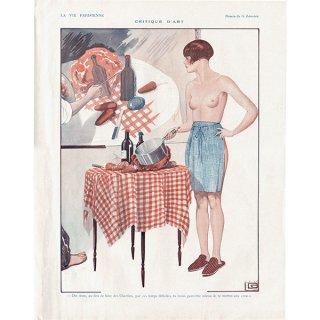 フランスの雑誌挿絵 〜LA VIE PARISIENNE〜より(ジョルジュ・レオネック/Georges Léonnec)0154