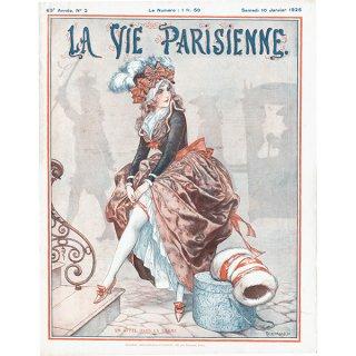 フランスの雑誌表紙 〜LA VIE PARISIENNE〜より(Chéri Hérouard)0155