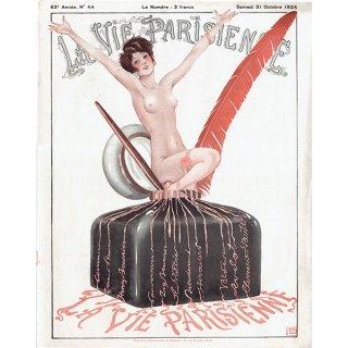 フランスの雑誌表紙 〜LA VIE PARISIENNE〜より(ジョルジュ・レオネック/Georges Léonnec)0160